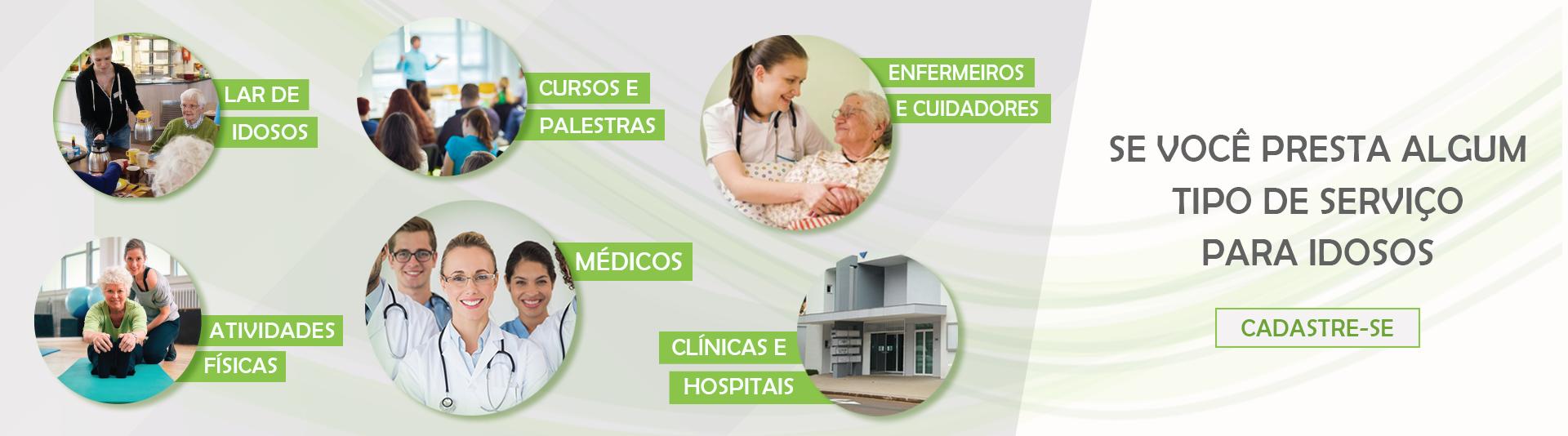 Cadastre seus serviços ou sua clínica/estabelecimento